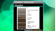 Guitar Chords Finder