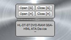 CD drives opener
