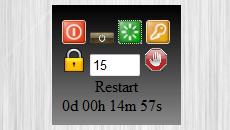 RC Shutdown timer