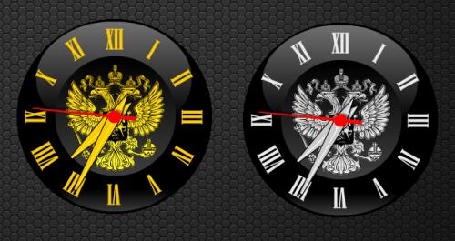 Стрелочные часы XClock