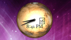 Desktop Planet Clock