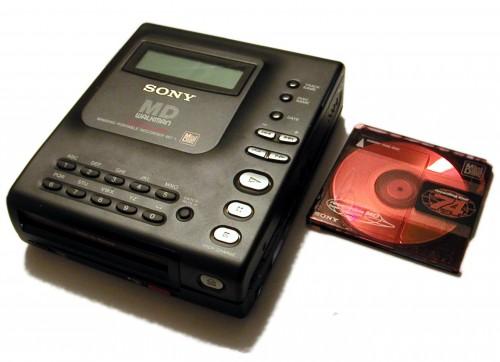 minidisc, Sony MiniDisc