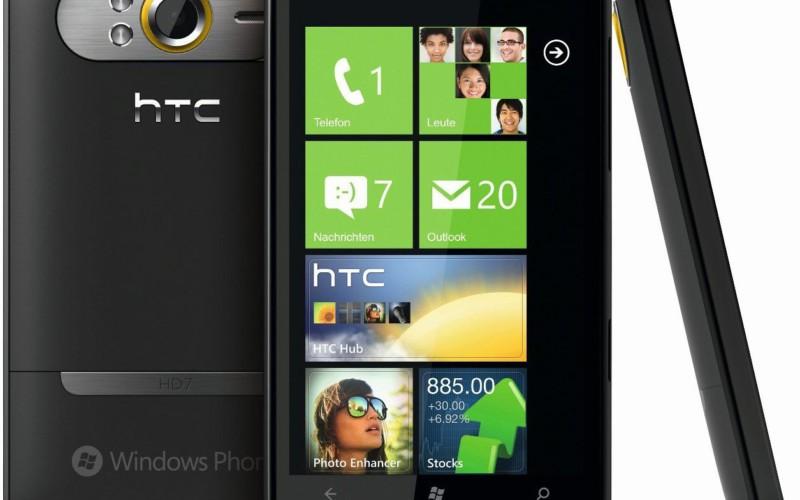 Первые телефоны на базе Windows Phone 7