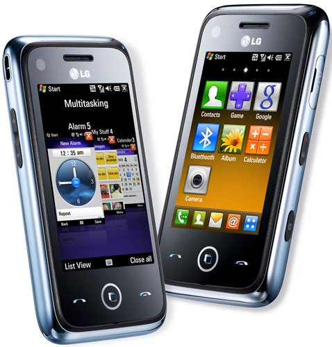 Обзор WinMo-смартфона LG GM750