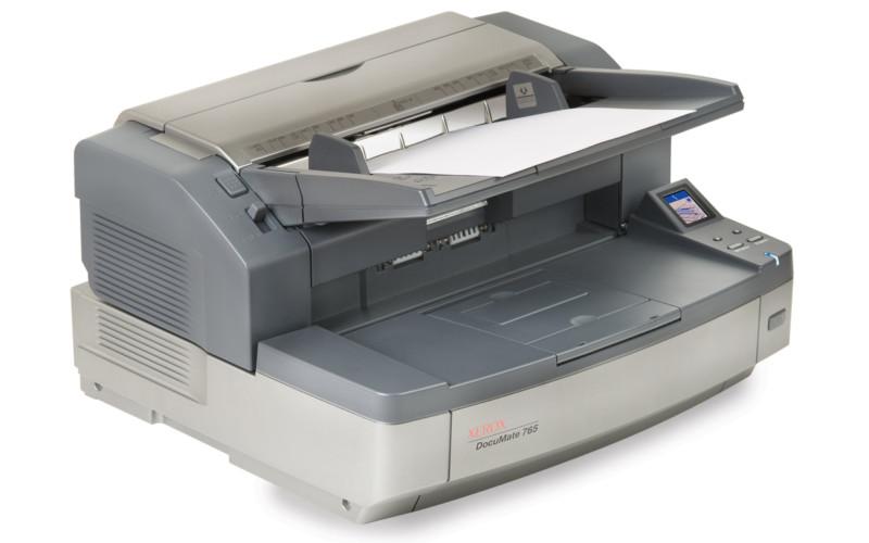 Xerox DocuMate 765: архивариус