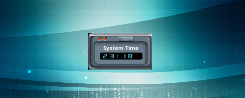 Time-Zone-Clock