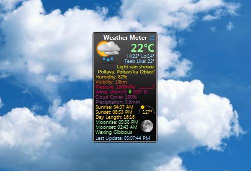 Weather-Meter