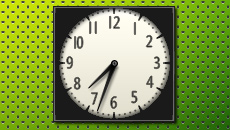 OnlyBLack 2 Clocks