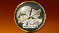 Windows 7 Signature Edition Clock