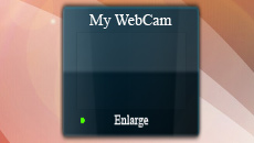 My WebCam Gadget