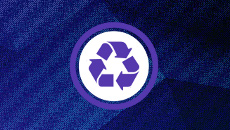 CV Trash Purple