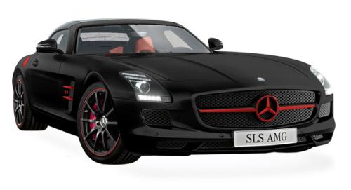Mercedes SLS AMG Matte Special Edition
