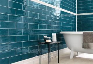 Глазурованная плитка: изящество и стиль ванной и кухни