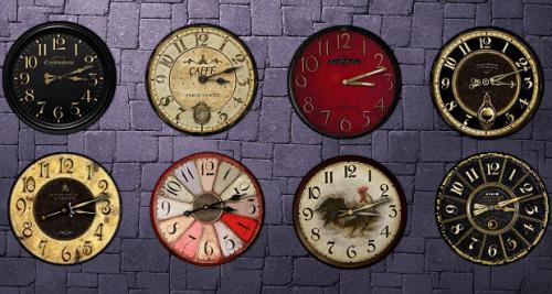 Retro Clocks 2