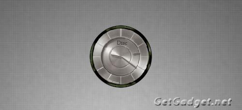 Disc Clock