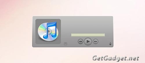 iTunes Sidebar Gadget2