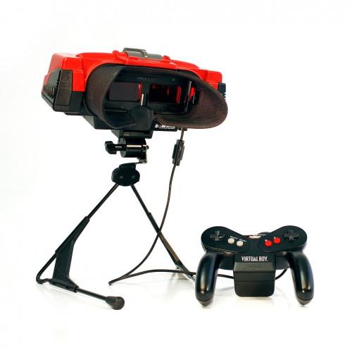Nintendo Virtual Boy, virtual boy