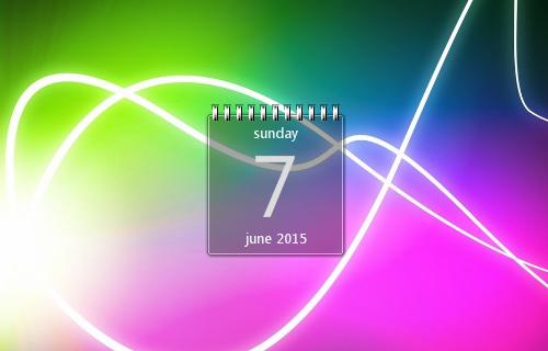 Chameleon-Calendar