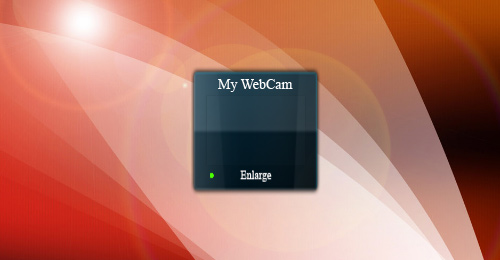 My-WebCam-Gadget