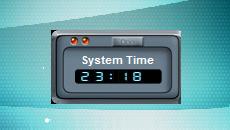 Time-Zone-Clock