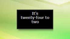 Text-Clock